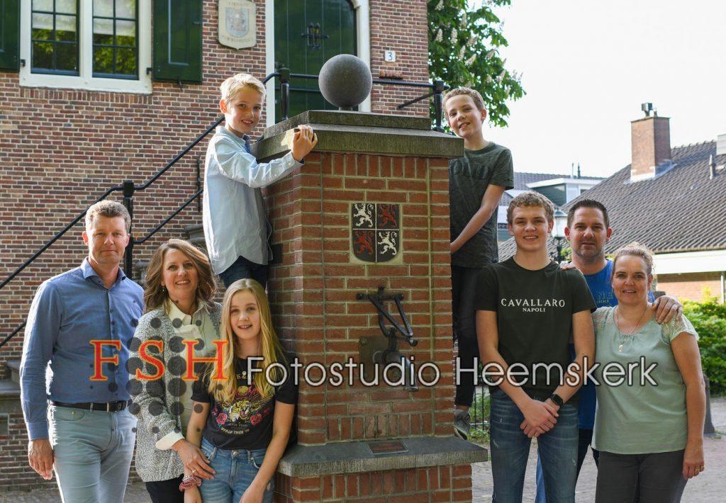 Fotostudio Heemskerk - familieportret